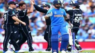 ICC World Cup 2019 Warm Up: Batsmen Display Sluggish Form as India Lose to New Zealand by Six Wickets