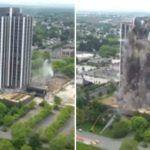 Pennsylvania's Tallest Building Gets Demolished Within 16-Seconds And The Video Will Amaze You – Watch Here