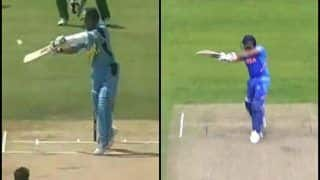 India vs Pakistan: Sachin Tendulkar Gives Genius Reply to ICC on Comparing His Centurion Six With Rohit Sharma's Maximum in Manchester