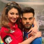 Urvashi Rautela Poses Happily With Virat Kohli in London as She Roots For Team India During India vs Pakistan Match