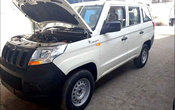 Mahindra TUV300 Design Revealed in new Spy Images; India Launch Soon