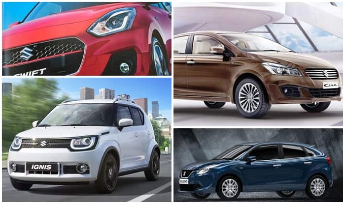 Maruti Suzuki goes premium with 2017 Swift, Maruti Ignis, Baleno RS