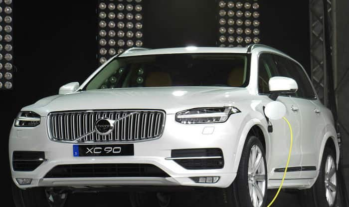 new car launches august 2014Volvo launches hybrid SUV XC90 T8 Excellence at Rs 125 crore