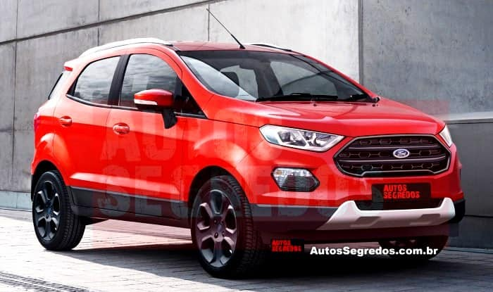 Ford EcoSport 2017 World Premier Confirmed for November 14 : ford new car india - markmcfarlin.com