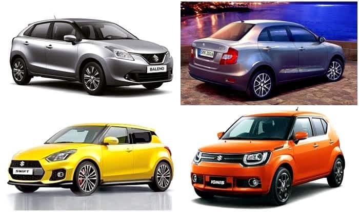 Top 4 Maruti Suzuki Cars To Be Manufactured At The New Gujarat