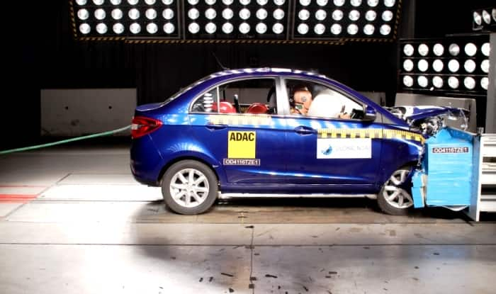 Tata Zest Receives 4-star safety rating In Global NCAP