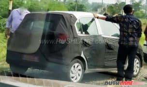New Hyundai Santro 2018 (Codename AH) Spied Testing in India; Will Rival Renault KWID, Maruti Alto