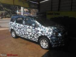 Chevrolet Spin MPV Spied ahead of unveiling at Delhi Auto Expo 2016