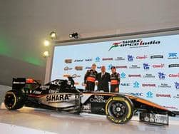 Formula One 2015: Force India unveils the car for this year's F1 with drivers Nico Hulkenberg and Sergio Perez
