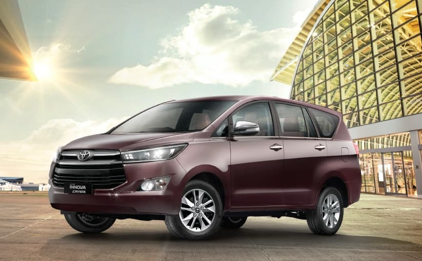 Toyota Innova Crysta ditches 17-inch wheels for comfort; gets 16-inchers standard across the range