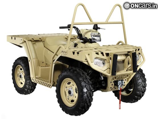 Polaris bags contract to supply ATVs to German army