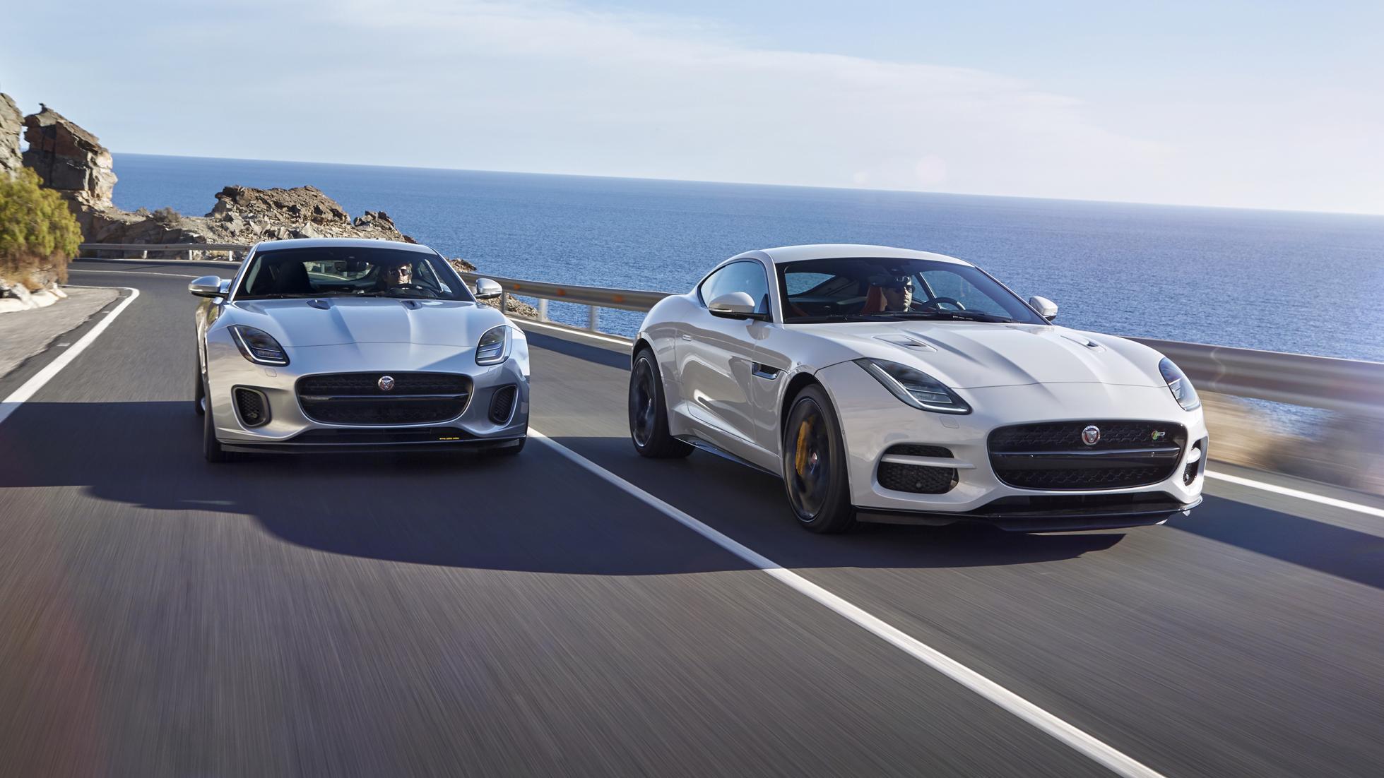 Jaguar unveils the new 2017 F-type Sportscar