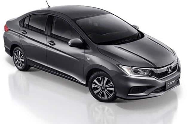 2017 Honda City Facelift Likely To Be Offered In 5 Variants And With 5  Colours