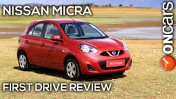 2013 Nissan Micra (facelift) First Drive Review