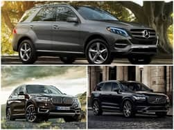 Mercedes-Benz GLE vs BMW X5 vs Volvo XC90: Comparison Report