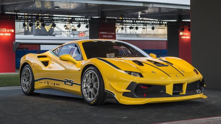 Ferrari 488 GTB Challenge 2017 revealed