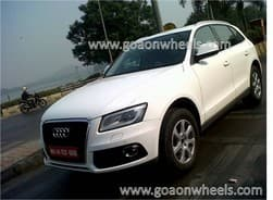 Scoop: 2013 Audi Q5 Facelift caught