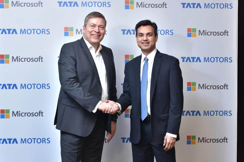 Tata Motors collaborates with Microsoft India for enhanced in-car connectivity
