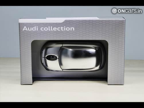 Wireless computer mouse by Audi