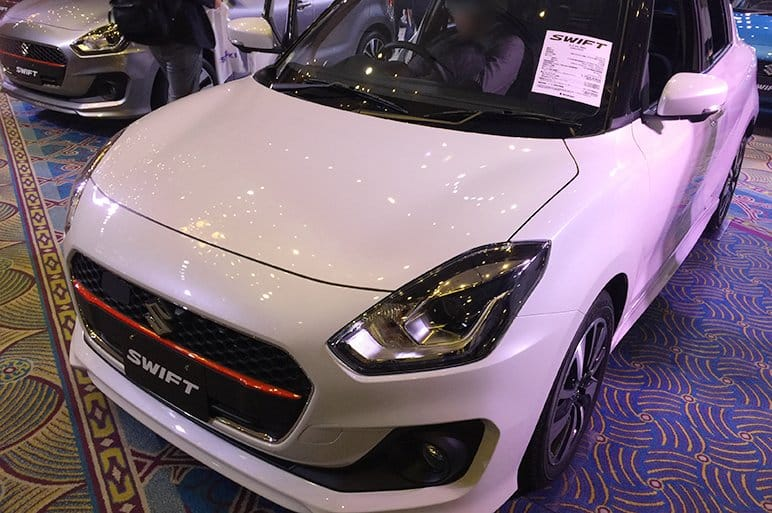 new car launches in japan2017 Suzuki Swift unveiled in Japan to launch in India during