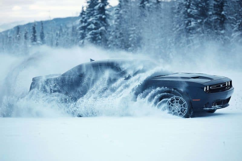 Dodge Challenger SRT gets All-Wheel drive
