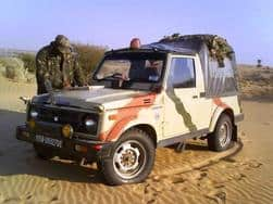 Maruti Suzuki Gypsy: The pride of Indian Army