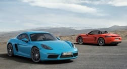 Porsche to launch 718 Boxter and New Cayman 2017 in India tomorrow
