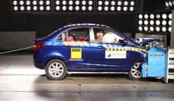 Global NCAP awards structurally improved Tata Zest with 4-stars rating for crash test