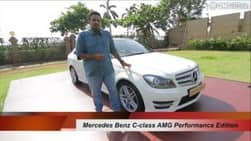 Video : Mercedes Benz C-class AMG Performance Edition (video)