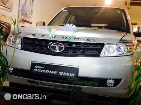 new car launches may 2015Scoop Tata Safari Storme facelift launching on 20th May reaches