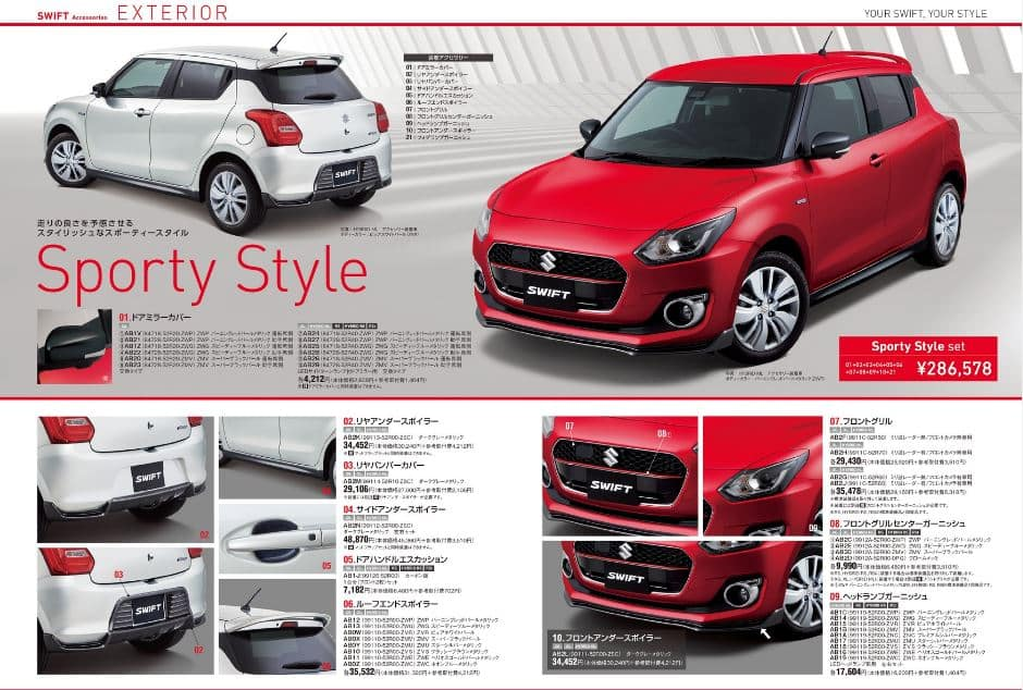 2017 Suzuki Swift to come with additional accessories; India bound Maruti Swift likely to offer similar package