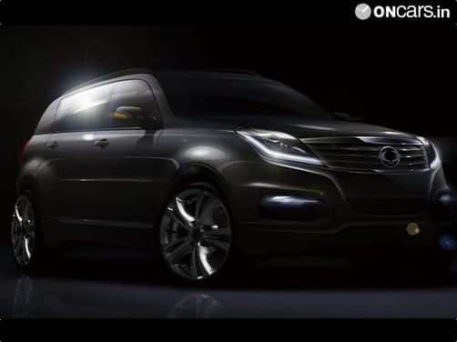 2013 Ssangyong Rexton SUV previewed
