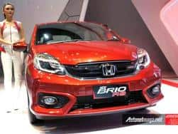 2016 Honda Brio facelift revealed: gets CVT unit