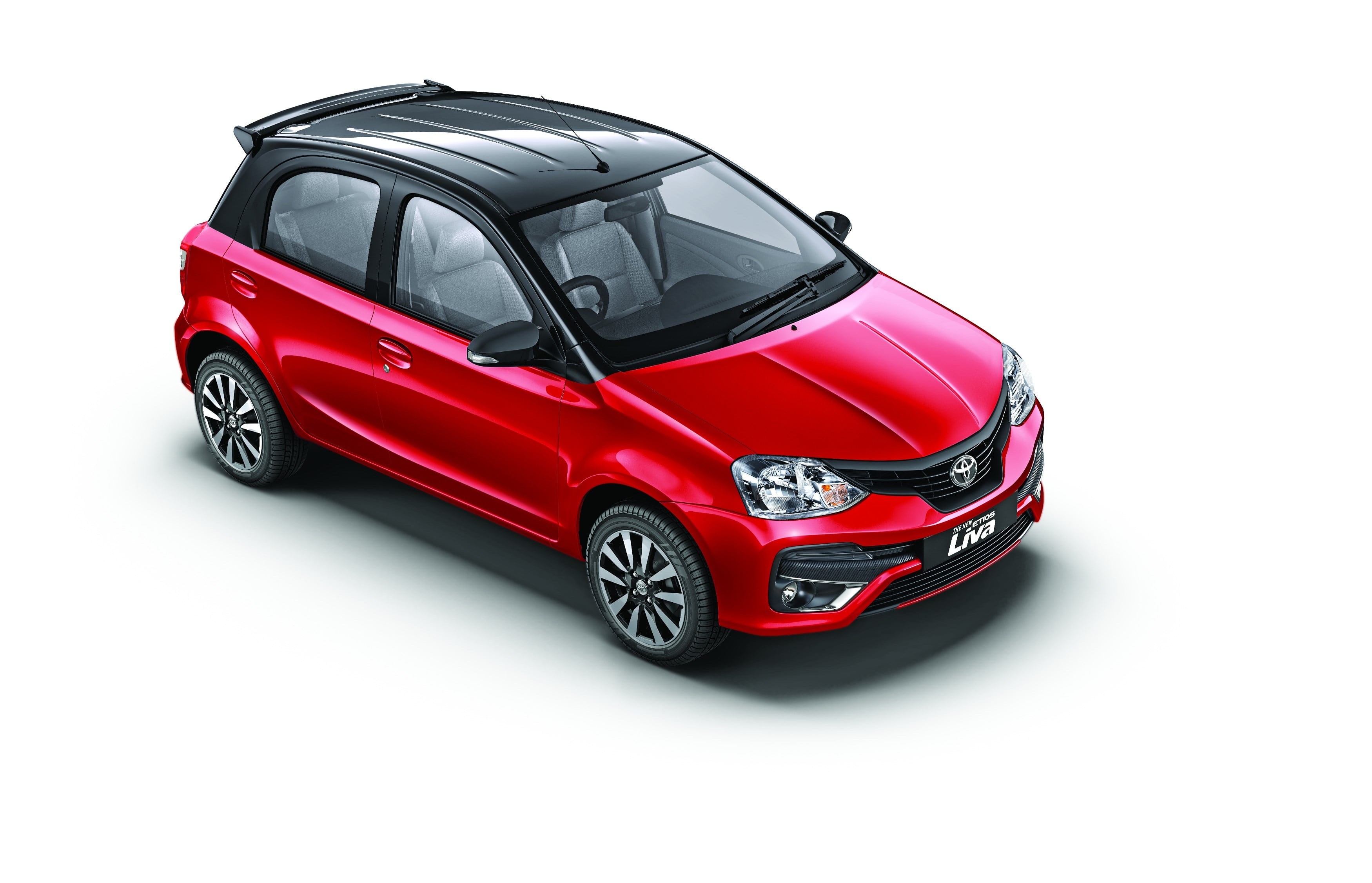 Toyota Etios Liva launched with new colours and additional features at INR 5.94 lakh