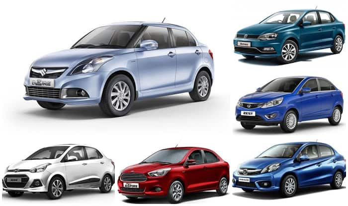 Best Of India S Top Compact Sedans Find New Upcoming