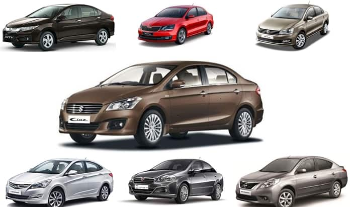 Wonderful Best Of 2016: Top 7 Mid Size Sedans Of India