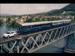 Land Rover Discovery Sport unleashes its True Power; Tows 100 Tonne Train