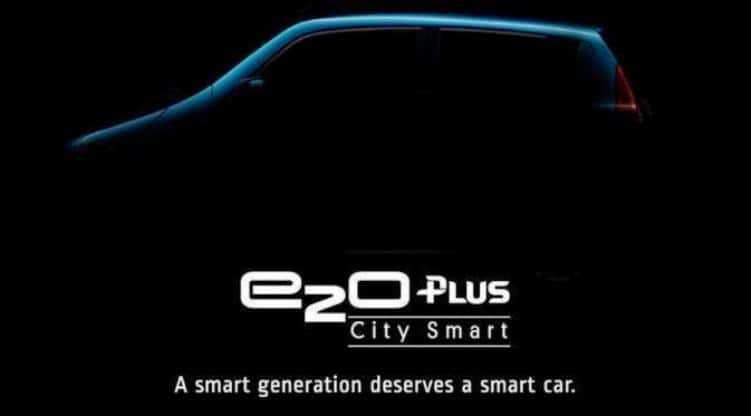 Mahindra e2o Plus launching today in India