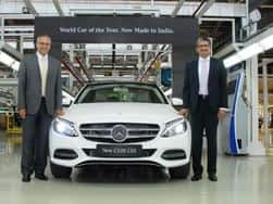 Locally produced Mercedes-Benz C220 CDI price in India is INR 37.90 – 39.90 lakh