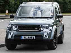 2013 Frankfurt Motor Show bound Land Rover Discovery spotted