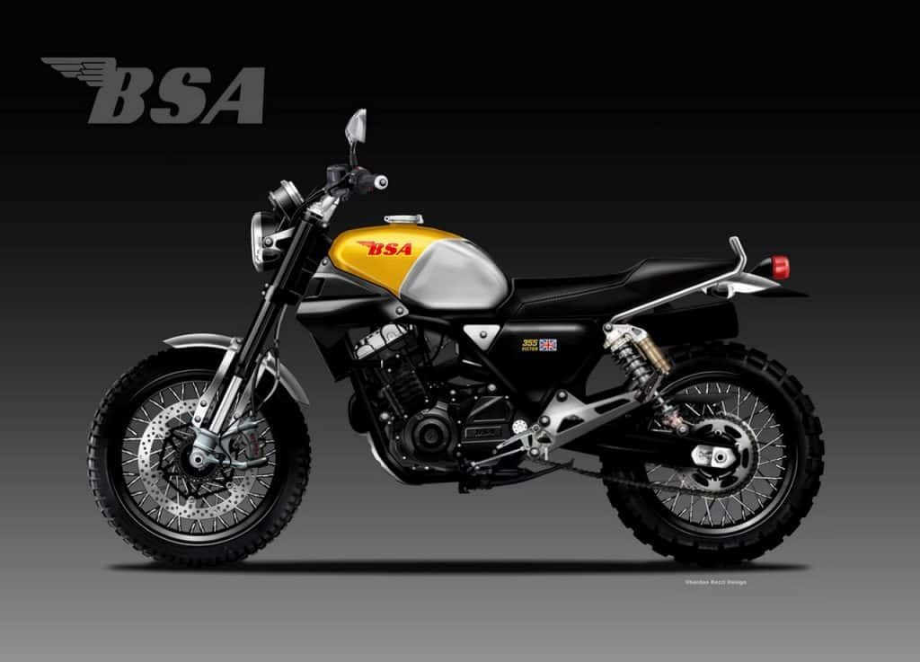 This is How the First Next-Gen BSA Bike will look like ...