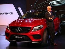 Mercedes-Benz GLE 450 AMG Coupe Launched: Price in India is INR 86.4 lakh
