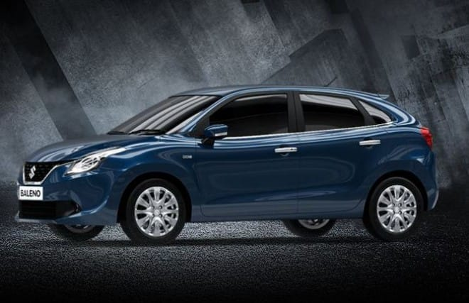 Maruti Baleno makes it to Top 5 in Top 10 most selling car for November 2016