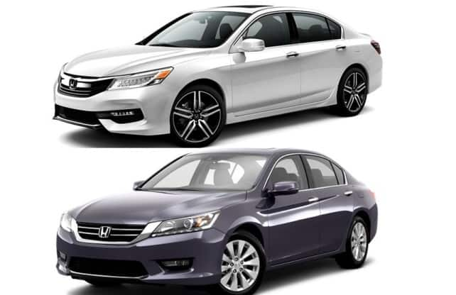 New Honda Accord 2016 vs Old Honda Accord  Expected Price