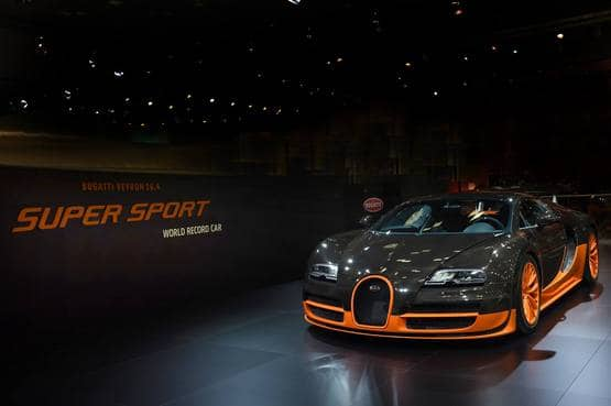 Bugatti Veyron Hypercar: Bugatti to unveil the last and 450th model of Veyron at the 2015 Geneva Motor Show