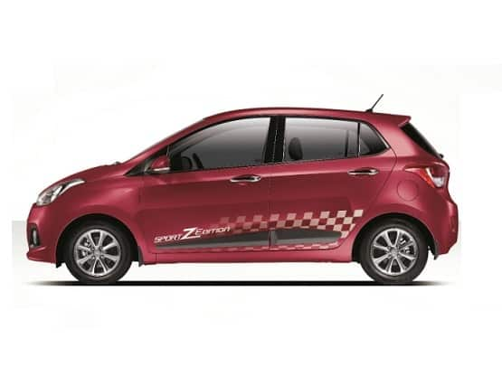 Hyundai Grand i10: Hyundai Motors launches SportZ Edition of Grand i10 on 1st Anniversary