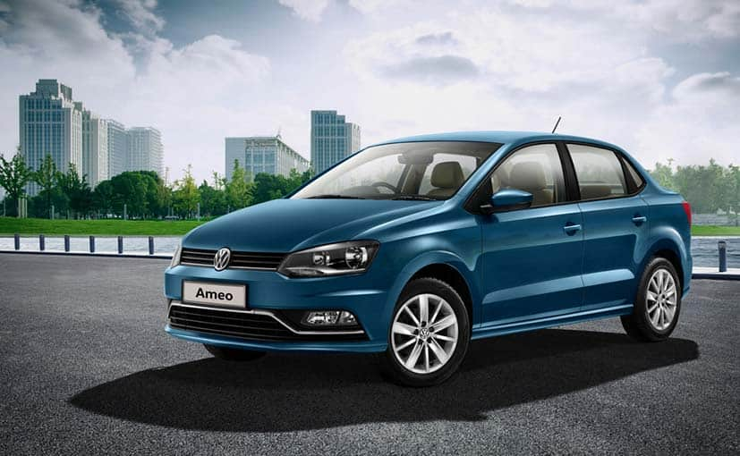 Volkswagen Ameo diesel launched in India at INR 6.27 Lakh