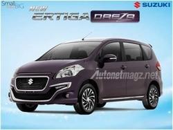 New Suzuki Ertiga Dreza leaked: gets new Front Design