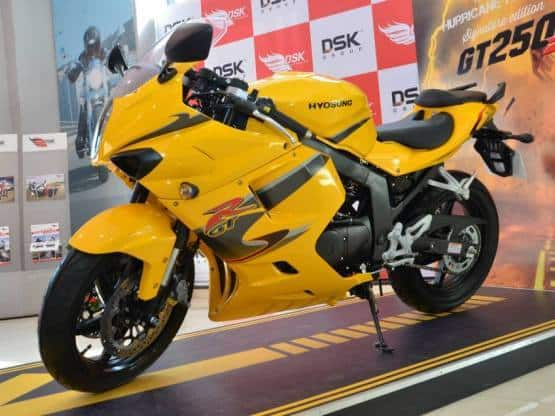 Dsk Hyosung To Manufacture Bikes In India India Made Hyosung