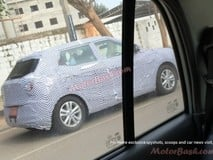 Mahindra SsangYong Tivoli compact SUV spied testing for the first time in India